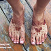 Robin's Bridal Feet
