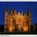 Peterborough Cathedral : by Night