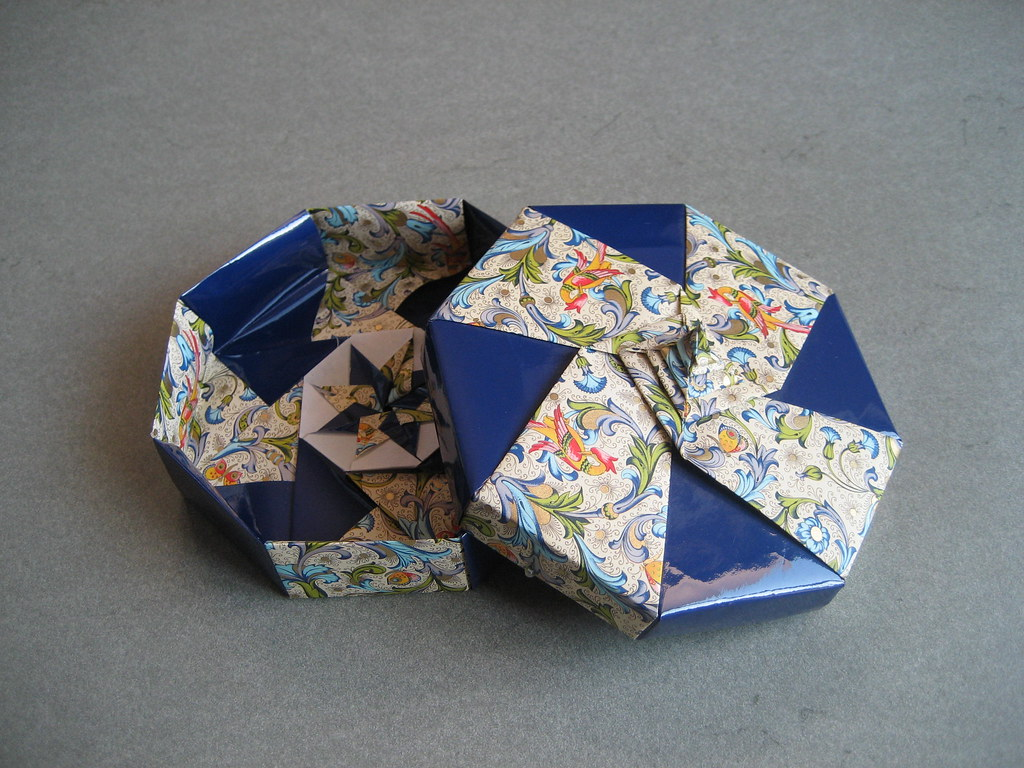 Gio Origamis Most Recent Flickr Photos Picssr Origami Boxes Tomoko Fuse S Octagonal Spiral Box