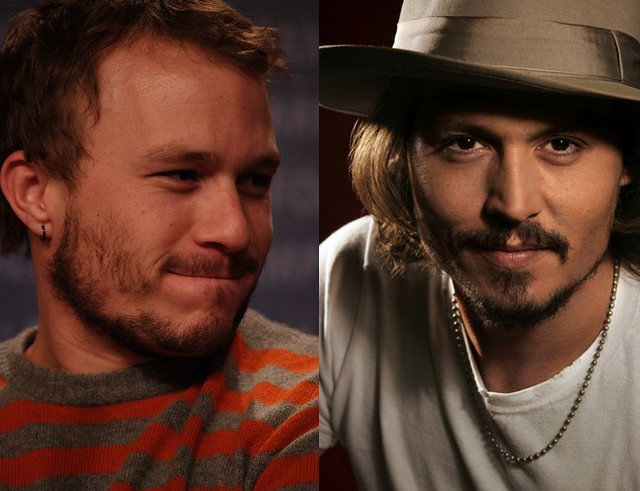 Heath Ledger & Johnny Depp