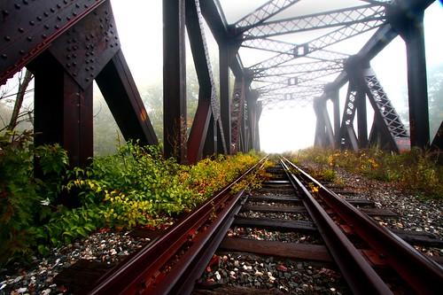 bridge fog mystery tracks northbound