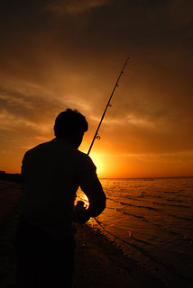 Fisherman SunSet - Sea