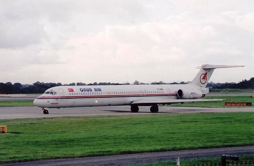 ONUR AIR MD- 88 TC-ONN(cn2176)
