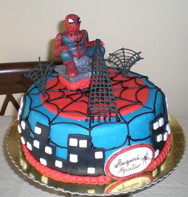 torta spiderman flickr photo sharing. Black Bedroom Furniture Sets. Home Design Ideas