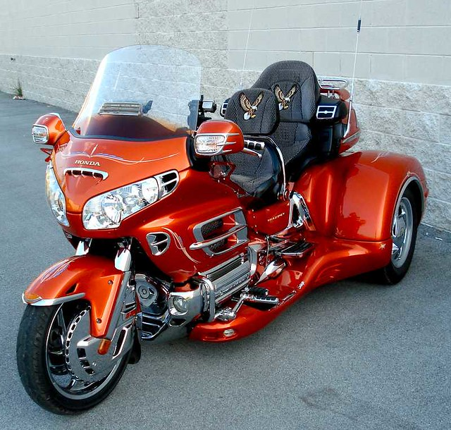 HONDA GOLDWING 1800 TRIKE 2002
