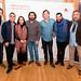 Pablo Martín Caminero (UHF), Miguel Marín (director del festival), Eva Yerbabuena, Josemi Carmona, Javier Colina, Bandolero y Juan Carmona, director institucional de Música de la Fundación SGAE.