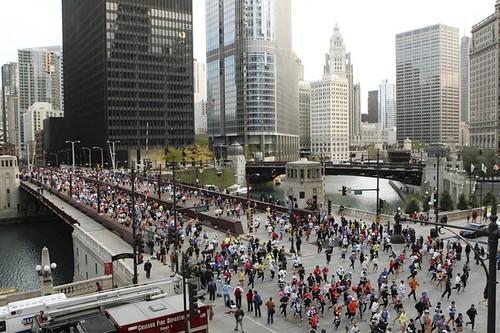registro para el Maratón de Chicago 2013