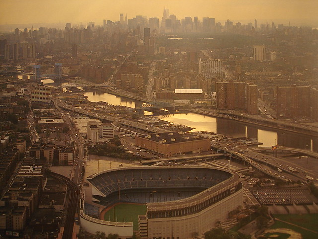 New York City Yankee Stadium Bronx 1986