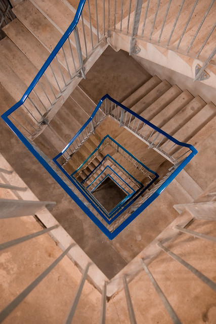 Square Spiral Staircase Flickr Photo Sharing