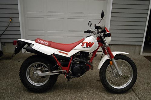 Yamaha Tw200 Modified 1987 TW200 | Explore l...