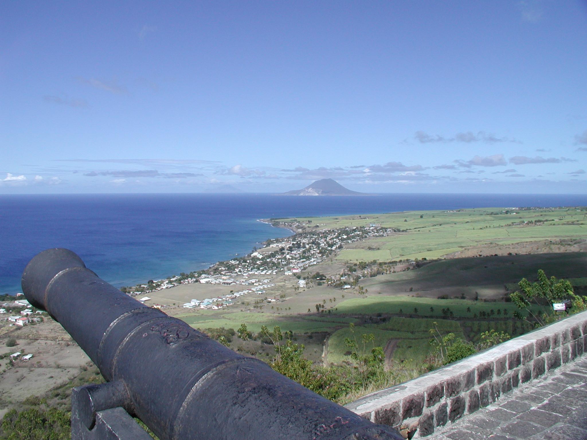 Elevation Of Saint Kitts Saint Kitts And Nevis