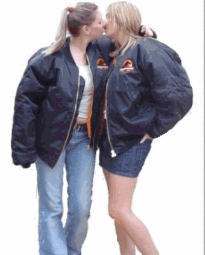 More Girls in Bomber Jackets 2 - a gallery on Flickr