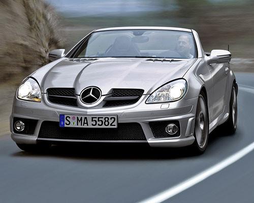 Mercedes benz skl 55 amg un deportivo de lujo for Mercedes benz deportivo