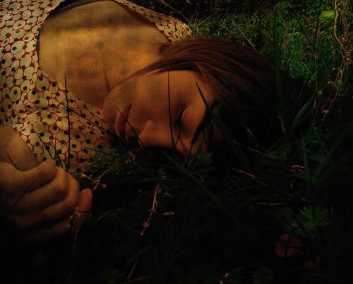 Giovane in sonno o l'abilità dell'inconscio