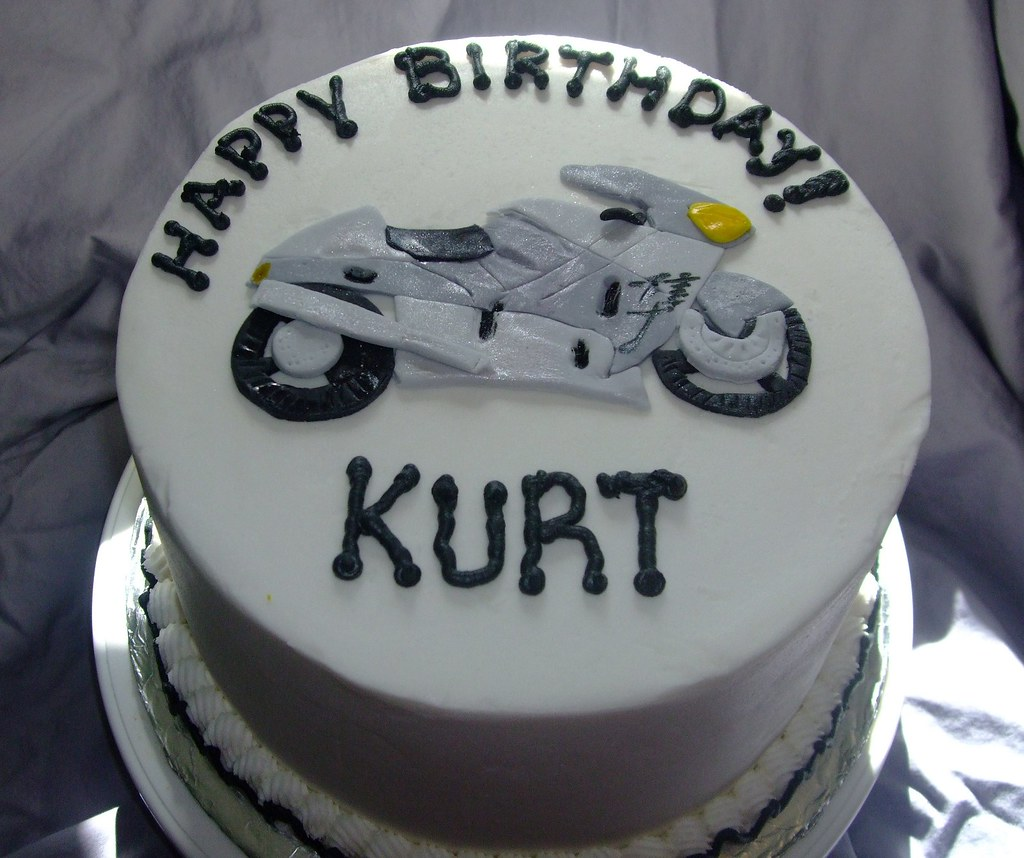Motorcycle Birthday Cake A Photo On Flickriver