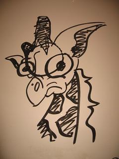 Grafitti Giraffe