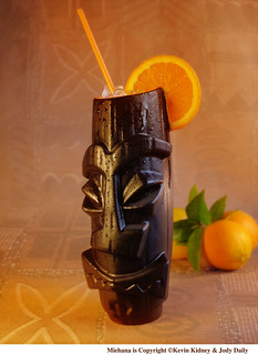 MIEHANA - God of the Orange Grove - Mug and Cocktail