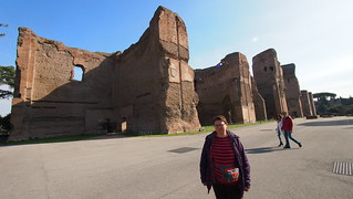 Imagen de Termas de Caracalla. trip20170208 rzym roma termykarakalli bathsofcaracalla geo:lon=12491667 geo:lat=41879683