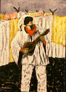 The song of Pulcinella, Naples