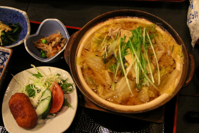 Chankonabe meal