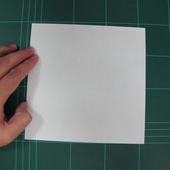 วิธีพับกระดาษเป็นรูปปลาแซลม่อน (Origami Salmon) 001