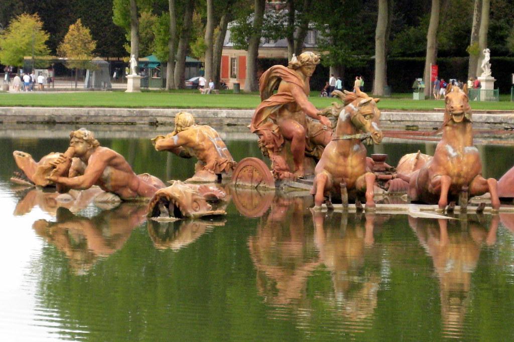 Versailles jardins du ch teau de versailles bassin d for Jardin chateau de versailles