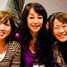 Small photo of Mikiko Minami and new friends