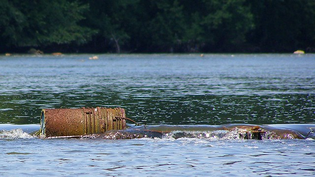 Indian fish weir trap on the passaic river flickr for Passaic river fishing