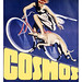 Cosmos Greyhound Bicycle Poster