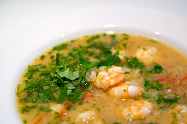 coconut fish stew w/ basil and lemon grass | Flickr - Photo Sharing!