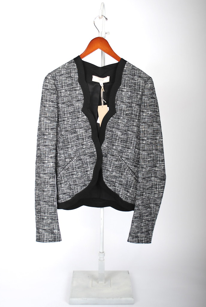 Tweed Stretch Blazer