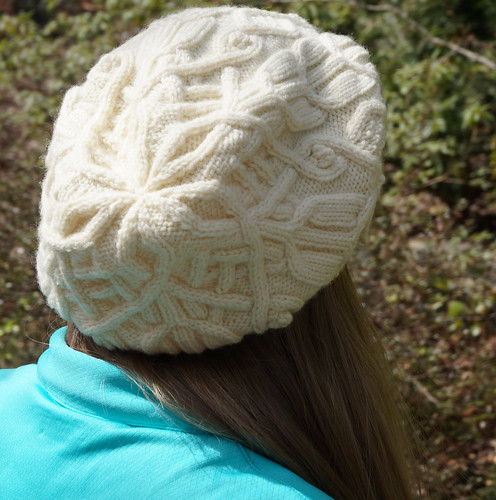 Master Knitter Level 3 Aran hat