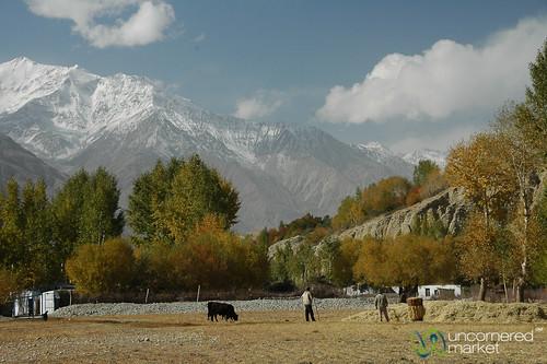 autumn mountains tajikistan centralasia pamirs aes langar badakhshan wakhanvalley pamirmountains