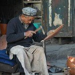 Uighur Coppersmith - Kashgar, China