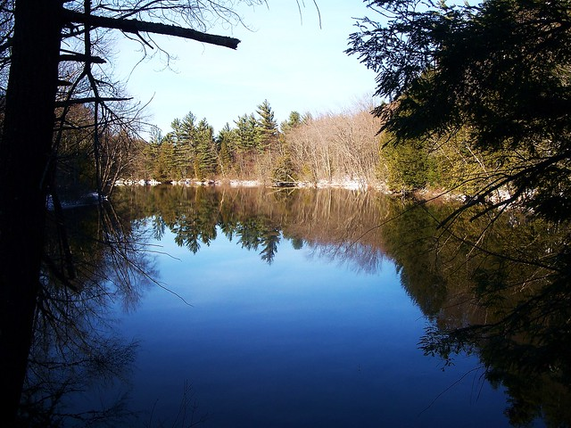 Schroon River Reflections