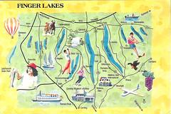 finger lakes NY map Postcard   Finger Lakes, New York. Pictu…   Flickr