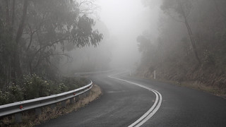 Drive slowly...