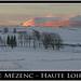 Le Mézenc au soleil levant ©@lain G,