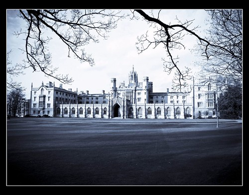 A mysterious St John's College - Cambridge