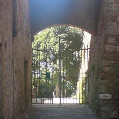 Gateway in Siena