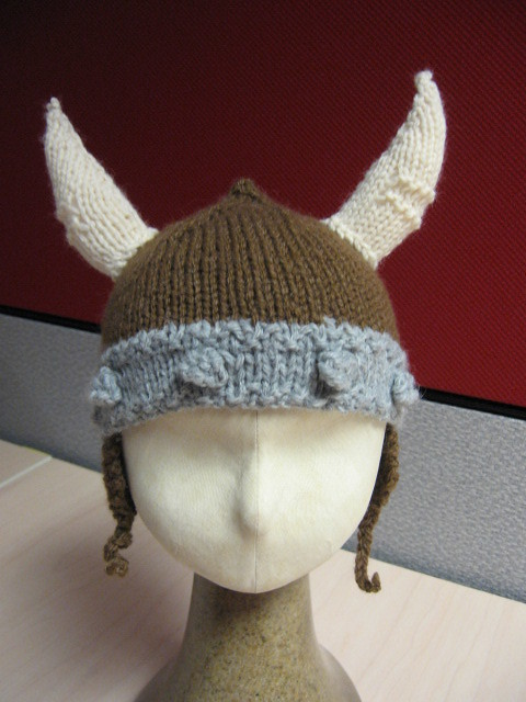 knitted viking hat Flickr - Photo Sharing!
