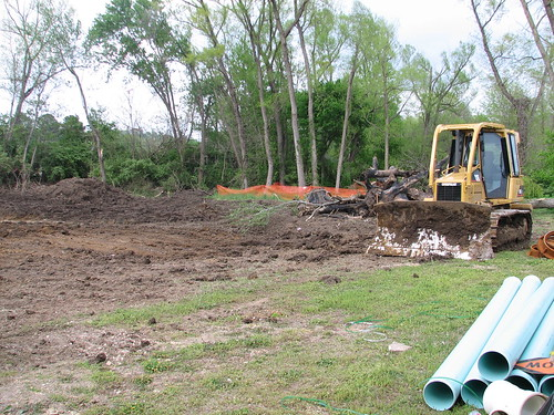 Environmental effects destruction of habitats for Construction habitat