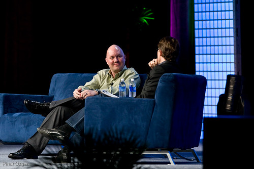 John Battelle and Marc Andreessen