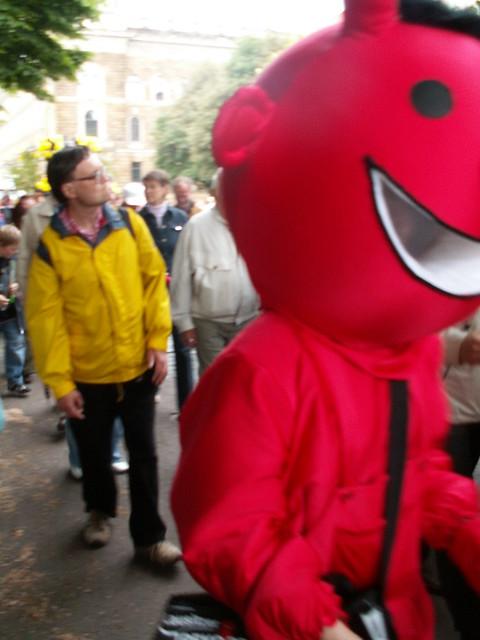 Geradeswegs zum Teufel dem Dixi-Teufel in Dresden 308