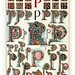 010-Letra P-Owen Jones Alphabet 1864- Copyright © 2010 Panteek.  All Rights Reserved