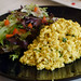 Vegan scrambled eggs at Heavenly Plate, Applecross