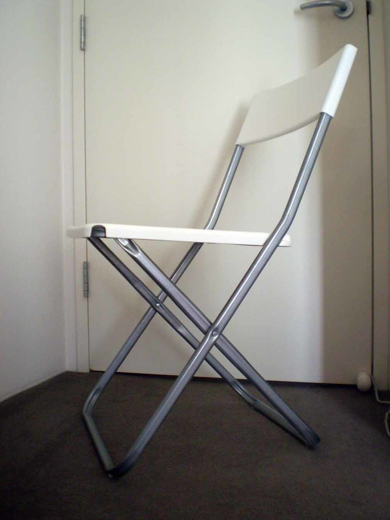 Ikea Foldable Chair Ding A Leng Flickr