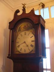 decor, furniture, wood, longcase clock, clock,