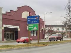 VA 381 Southern Terminus; US 11E TN-VA; US 19 TN-VA