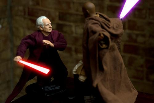 Star Wars Mace Windu Vs Darth Sidious